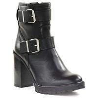 Chaussures Femme Bottines Paoyama KADOR Noir