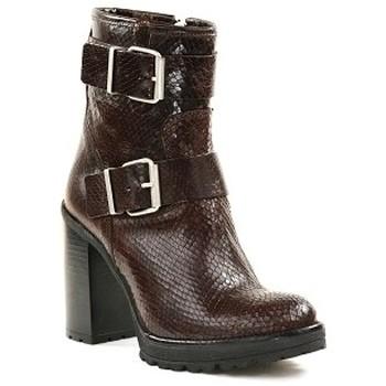 Chaussures Femme Bottines Paoyama KADOR Marron