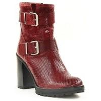 Chaussures Femme Bottines Paoyama KADOR Rouge