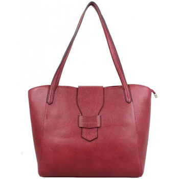 Sacs Femme Sacs porté main Patrick Blanc Sac cabas en cuir  Trauss Rouge Multicolor