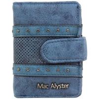 Sacs Femme Portefeuilles Mac Alyster Porte cartes  726 Aura Bleu sécurisé anti piratage Multicolor
