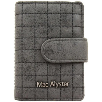 Sacs Femme Portefeuilles Mac Alyster Porte cartes  726 Mellow RFID surpiqué Noir Multicolor