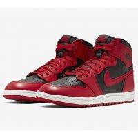 Chaussures Baskets montantes Nike Air Jordan 1 Varsity Red Varsity Red/Black-Varsity Red