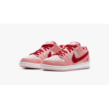 Chaussures Baskets basses Nike SB Dunk Low Strangelove Pink/Red/White