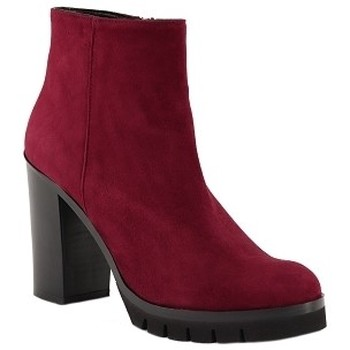 Chaussures Femme Bottines Giancarlo M8052 Rouge