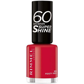 Beauté Femme Vernis à ongles Rimmel London 60 Seconds Super Shine 313-feisty 8 ml