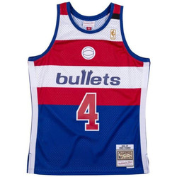 Vêtements T-shirts manches courtes Mitchell And Ness Maillot NBA Chris Webber Washi Multicolore