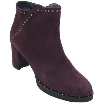 Chaussures Femme Boots Angela Calzature AANGC286prugna blu