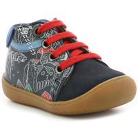 Chaussures Garçon Boots Aster Pyoso MARINE