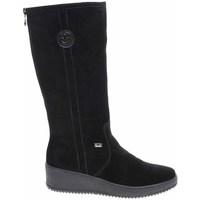 Chaussures Femme Bottes Rieker Y447000 Noir