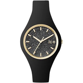 Montres & Bijoux Montre Ice Watch Montre Femme  en Silicone Noir Noir