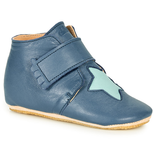 Chaussures Enfant Chaussons Easy Peasy KINY ETOILE Bleu