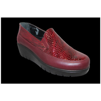 Chaussures Femme Mocassins Anatonic Magda Rouge