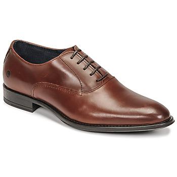 Chaussures Homme Richelieu Carlington OLILO Cognac