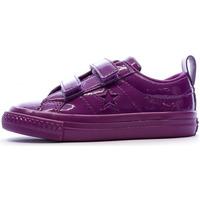 Chaussures Femme Baskets basses Converse 762523C Violet