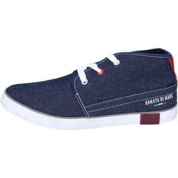 Chaussures Homme Boots Armata Di Mare BJ81 Bleu