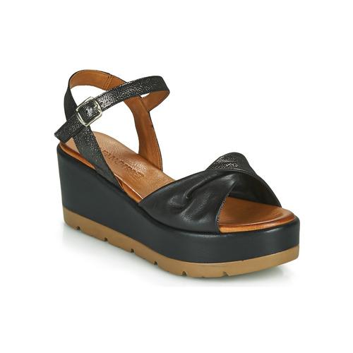 Chaussures Femme Sandales et Nu-pieds Café Noir HOLISTA Noir