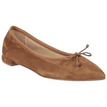 Chaussures Femme Derbies Giancarlo PIERA050 Camel