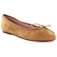 Chaussures Femme Ballerines / babies Champ De Fleurs STEFANIA611 Camel