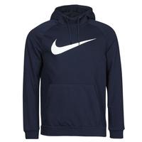 Vêtements Homme Sweats Nike DF HDIE PO SWSH Bleu / Blanc