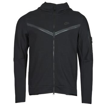 Vêtements Homme Vestes de survêtement Nike NSTCH FLC HOODIE FZ WR Noir