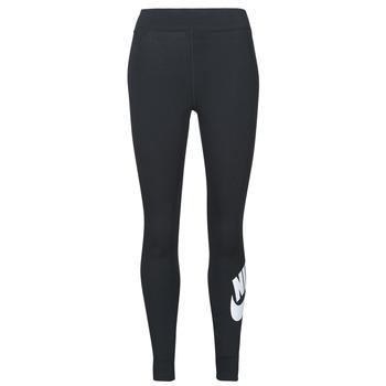 Vêtements Femme Leggings Nike NSESSNTL GX HR LGGNG FTRA Noir / Blanc