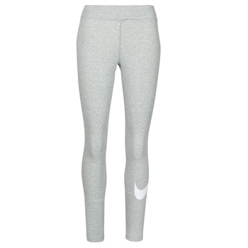 Vêtements Femme Leggings Nike NSESSNTL GX MR LGGNG SWSH Gris / Blanc