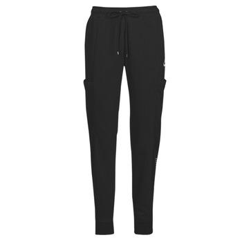 Vêtements Femme Pantalons de survêtement Nike NSAIR PANT FLC MR Noir / Blanc