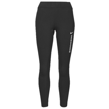Vêtements Femme Leggings Nike NSSWSH LGGNG HR Noir / Blanc