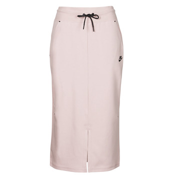 Vêtements Femme Jupes Nike NSTCH FLC SKIRT Beige / Noir