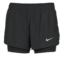 Vêtements Femme Shorts / Bermudas Nike 10K 2IN1 SHORT Noir
