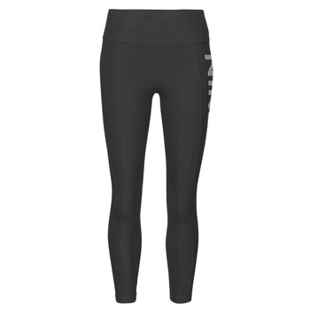 Vêtements Femme Leggings Nike AIR EPIC FAST TGHT 7_8 Noir / Argenté