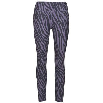 Vêtements Femme Leggings Nike NIKE ONE 7/8 AOP TGT ICNCLSH Violet / Noir