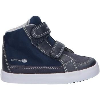 Chaussures Garçon Baskets montantes Geox B841NB 0MEFU B GISLI Azul