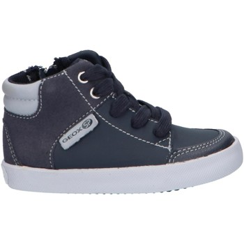 Chaussures Garçon Baskets montantes Geox B841NA 054AU B GISLI Azul