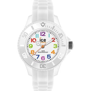 Montres & Bijoux Enfant Montres Analogiques Ice Watch Montre Enfant  en Silicone Blanc Blanc