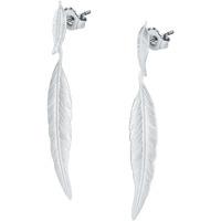 Montres & Bijoux Femme Boucles d'oreilles Cleor Boucles d'oreilles  en Argent 925/1000 Blanc