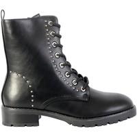 Chaussures Femme Boots The Divine Factory Bottine Noir