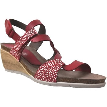 Chaussures Femme Sandales et Nu-pieds Xapatan 2164COMP Rouge cuir