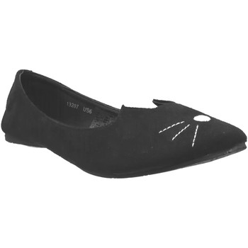 Chaussures Femme Ballerines / babies TUK A9008L Noir velours