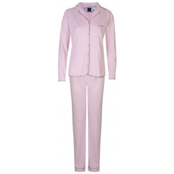 Vêtements Femme Pyjamas / Chemises de nuit Le Chat Pyjama boutonne Essentiel ROSE