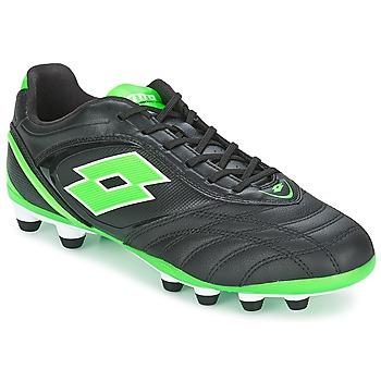 Chaussures de sport Lotto STADIO P VI 300 FG Noir / Vert 350x350
