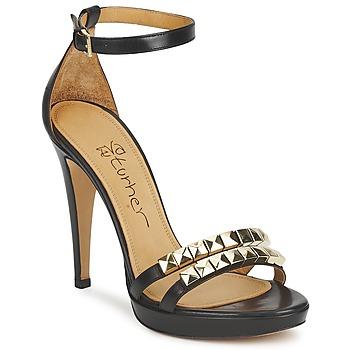 Chaussures Femme Sandales et Nu-pieds Eva Turner VAGIBEGO Noir
