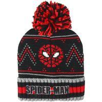 Accessoires textile Enfant Bonnets Spiderman  Noir / rouge