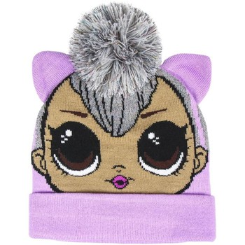 Accessoires textile Enfant Bonnets Lol Surprise  Lilas / gris