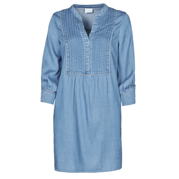 Vêtements Femme Robes courtes Vila VIMAKENNA Bleu medium