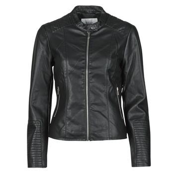 Vêtements Femme Vestes en cuir / synthétiques Vila VIBLUE Noir