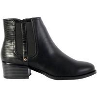 Chaussures Femme Bottines The Divine Factory Bottine QL4040 Noir
