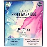 Beauté Femme Masques & gommages Technic Masque Duo Calmant & Hydratant   2x21g Autres