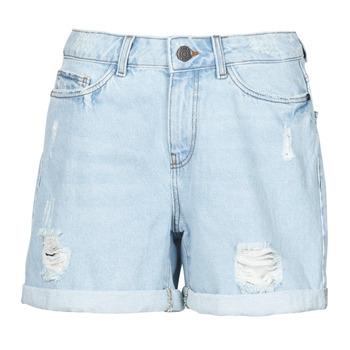 Vêtements Femme Shorts / Bermudas Noisy May NMSMILEY Bleu clair